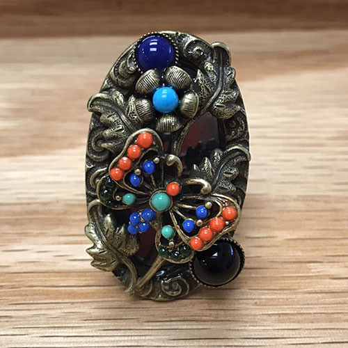 Resting Butterfly Ring
