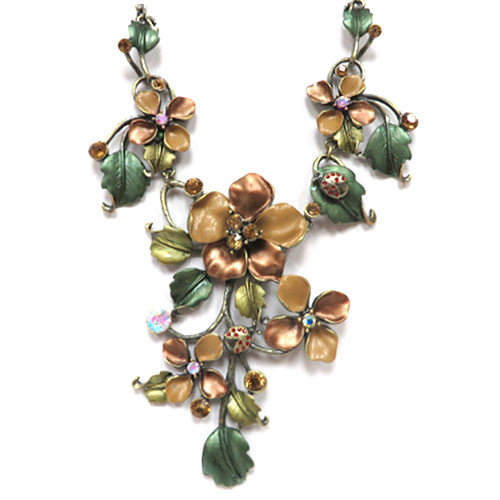 Enamel Fantasy Vine Necklace 2