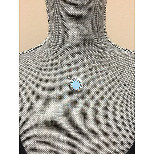 House of Harlow Mini Baby Blue Sunburst