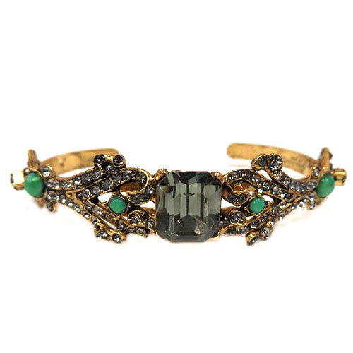 Heirloom Treasure Bracelet with Green