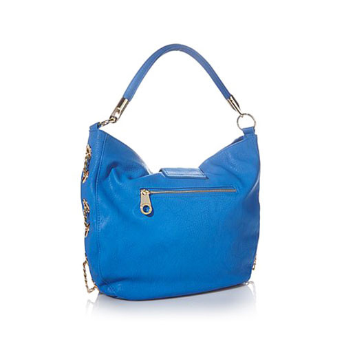 Big Buddha's Ibiza Shoulder Bag-Ocean Blue