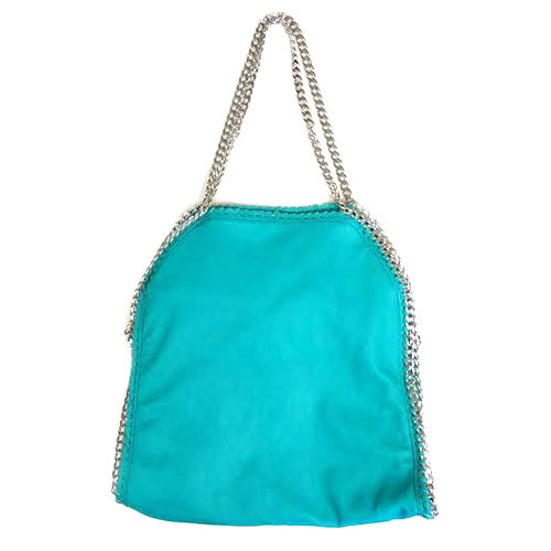 Turquoise Chain Bag