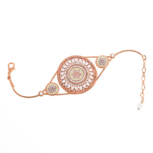 Large Parisian Medallion Rose Gold