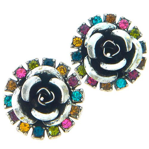 In Full Bloom Stud Earring Multi