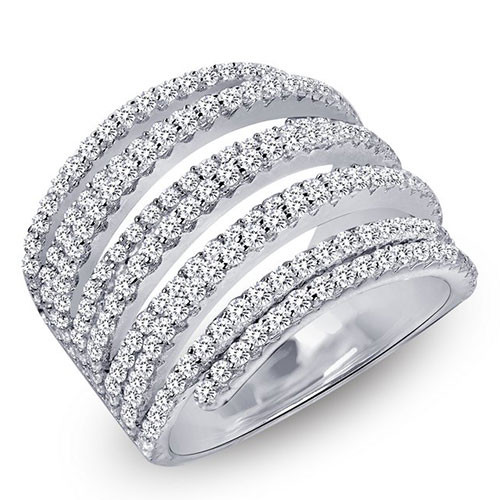 Lafonn's Modern Diamond Wrap Ring