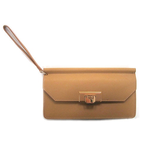 Sondra Roberts Saffiano With Flip Lock Closure 2