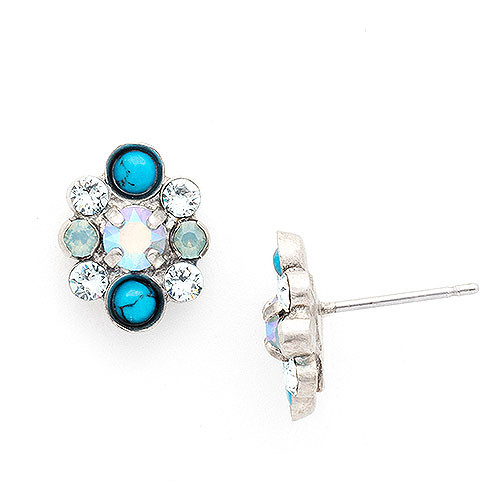Sorrelli Semi Precious Blue Stones with Crystals
