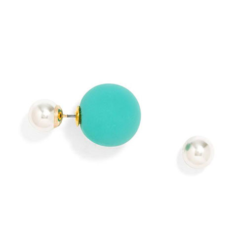 Pop Of Color 360 Pearl Studs