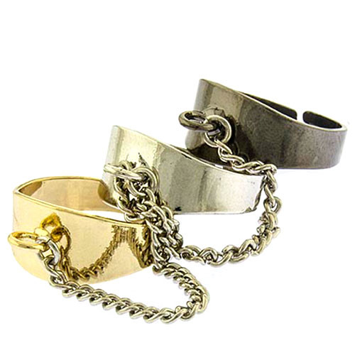 Tri-Colored Chained Bands
