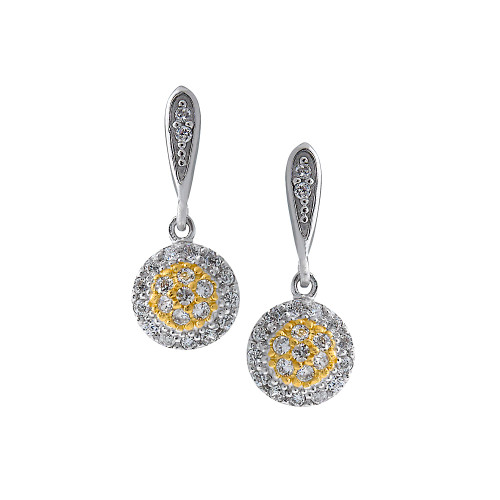 Pretty Canary Drop Earrings