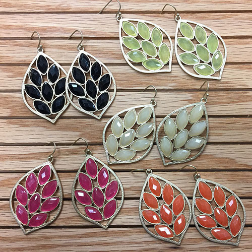 Lotus Leaf Earring