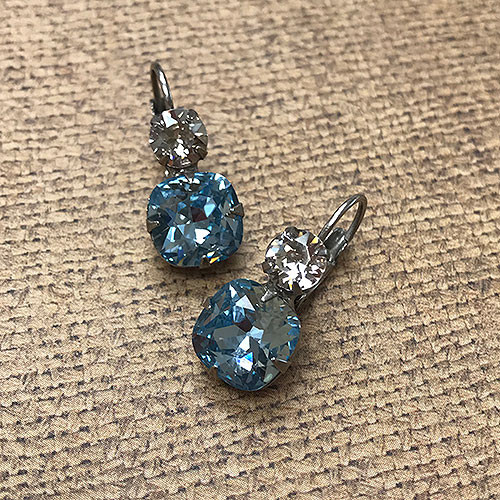 Sorrelli's Double Crystal Drop Earring