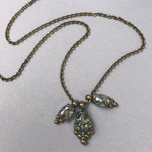 Sorrelli's Trifecta Pendant Necklace