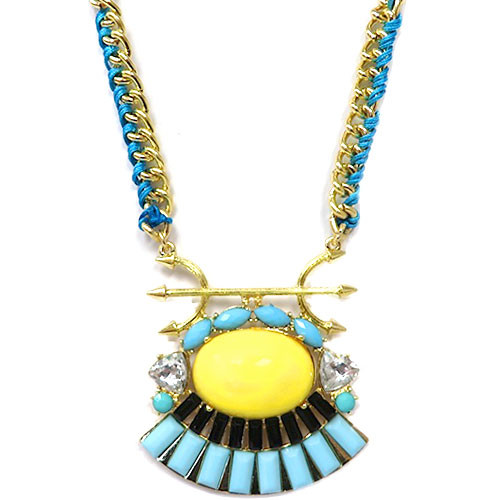 Aztec Queen Pendant Necklace