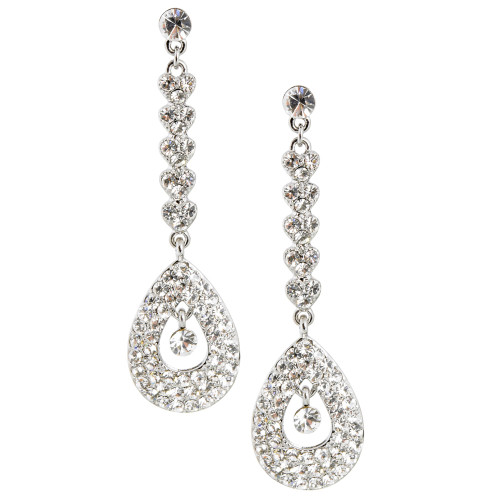 Teardrop Bottom Earring