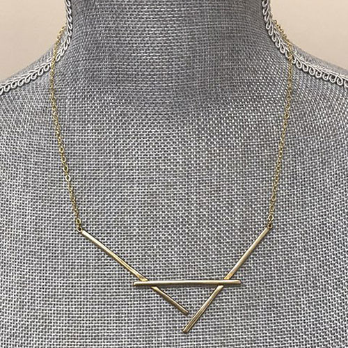 Naked Cradle Necklace in Gold