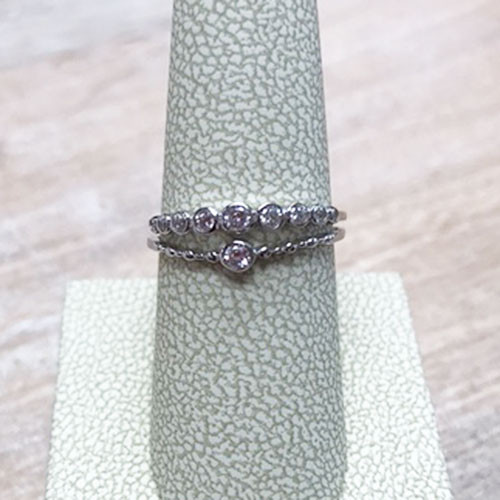 Double Band Simple Cubic Ring