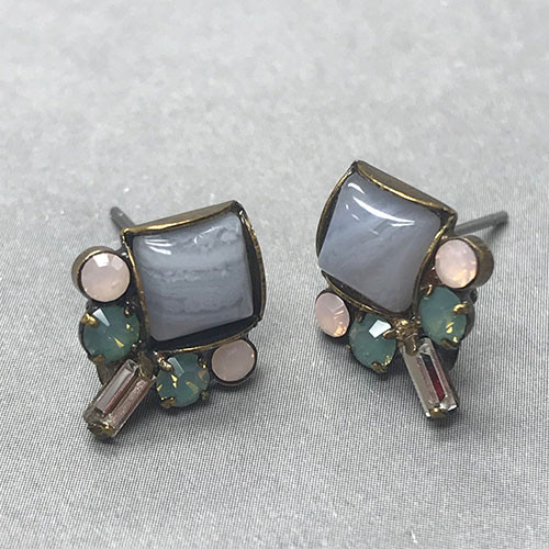 Sorrelli Simple Washed Pastel Post Earring