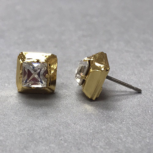 Sorrelli Square Crystal Stud Earring