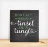 Tinsel In A Tangle Digital File