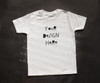 Plain White Short Sleeve Boys T Shirt Mock-Up (#3)