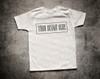 Plain White Short Sleeve Boys T Shirt Mock-Up (#4)