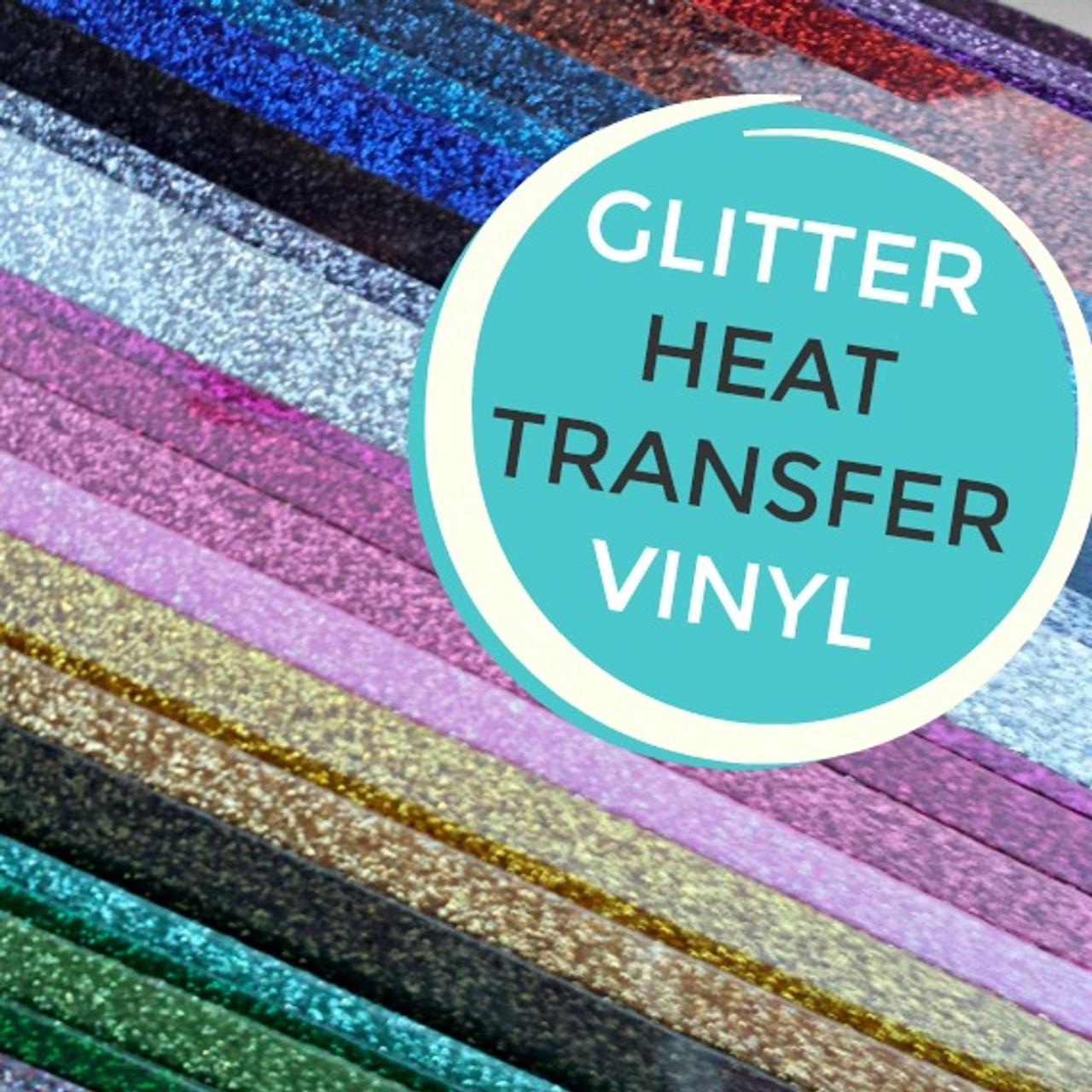 Siser Glitter Heat Transfer Vinyl My Vinyl Direct