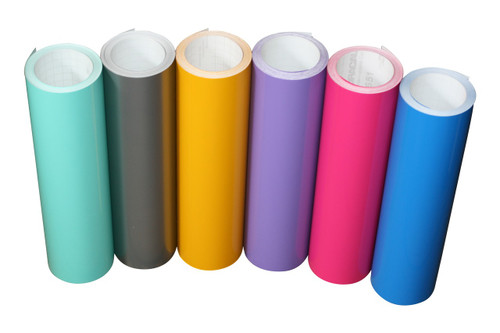 Our Gloss Vinyl is available in 1, 3, 5, 10, & 50 Yard Rolls