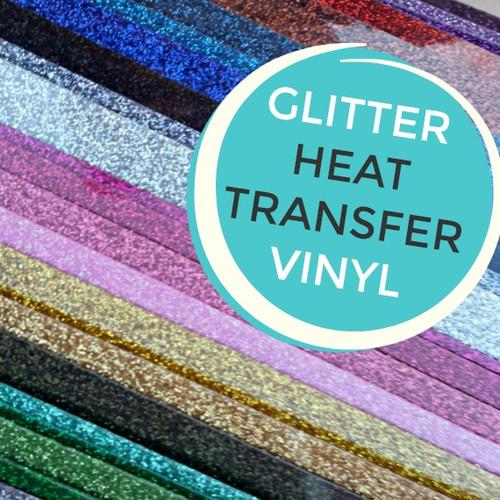 Siser GLITTER Heat Transfer Vinyl - My Vinyl Direct