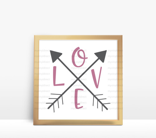 Love Arrow Digital File