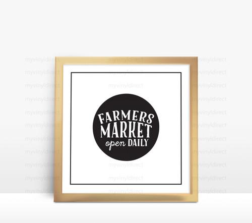 Farmers Market Digital File