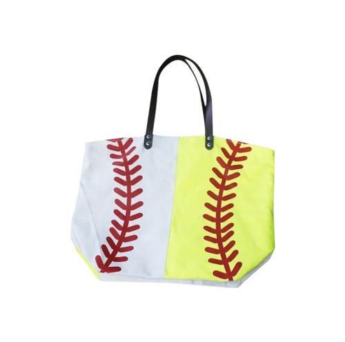 Half & Half Softball/Baseball Tote