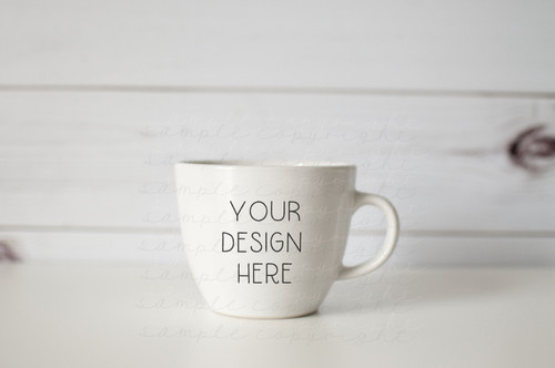 Plain White Mug Mock-Up #1