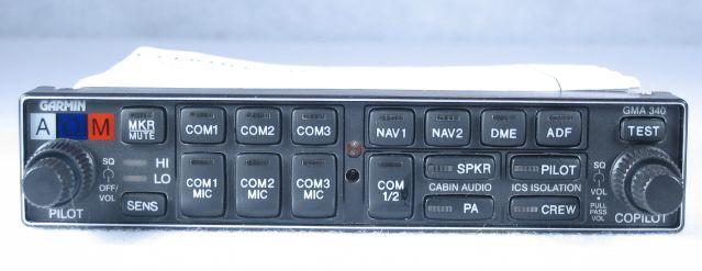 Audio Panel with Intercom