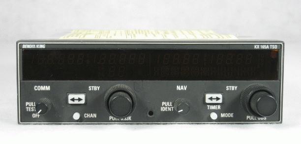 NAV/COMM with 8.33 kHz tuning