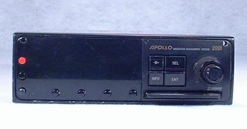 Apollo 2001 GPS Navigator Closeup