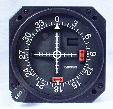 GI-106A GPS / VOR / LOC / Glideslope Indicator Closeup