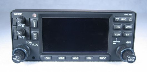 GNS-430W WAAS IFR GPS / NAV / COMM / MFD / Moving Map / Glideslope Closeup