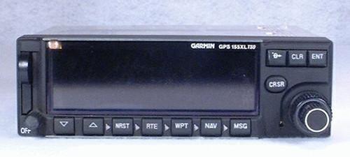 GPS-155XL IFR-Approach GPS / Moving Map Closeup