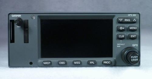 GPS-400W WAAS IFR-Approach GPS / Moving Map Closeup