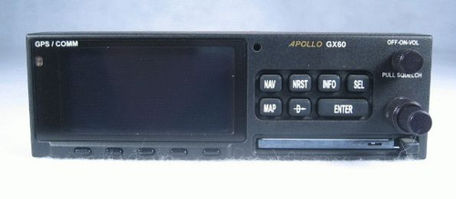 Apollo GX-60 IFR-Approach GPS / Moving Map / COMM Transceiver Closeup
