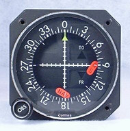 IND-31C GPS / VOR / LOC / Glideslope Indicator with Syncro Closeup