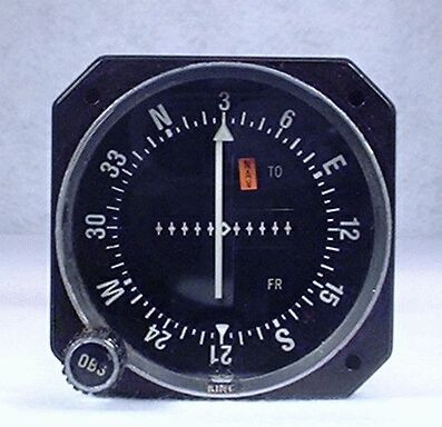 KI-203 VOR / LOC Indicator Closeup