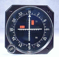 KI-206 GPS / VOR / LOC / Glideslope Indicator Closeup