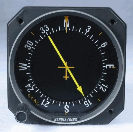 KI-227 ADF Indicator (Non-Slaved -00 version) Closeup