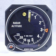 KI-250 Radar Altimeter Indicator - Closeup