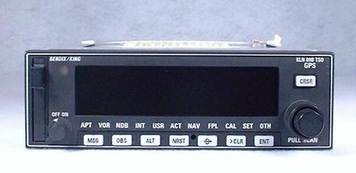 KLN-89B IFR-Approach GPS / Moving Map Closeup
