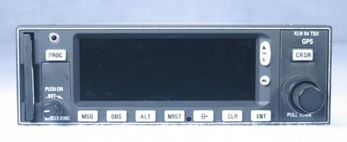 KLN-94 IFR-Approach GPS / Moving Map Closeup