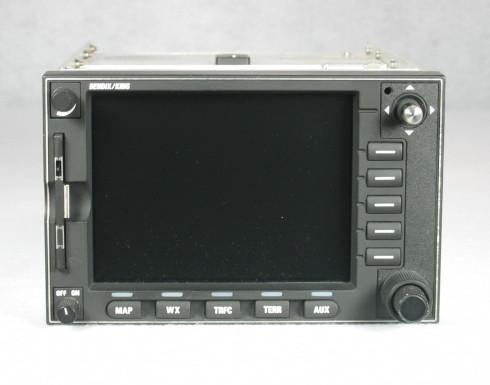 KMD-540 Multi-Function Display / Moving Map Closeup