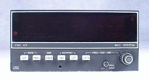 KNS-80 NAV / RNAV / DME / Glideslope Receiver Closeup